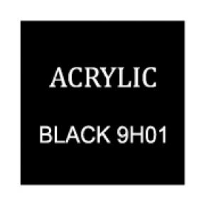 Black Rectangle 4mm