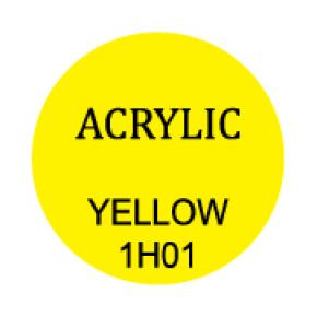 Yellow Round 3mm