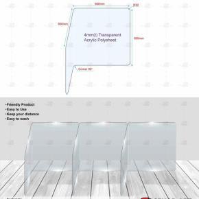 Acrylic Divider | Acrylic Shield