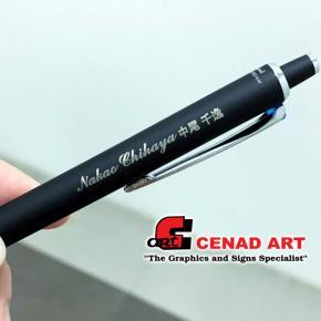 Laser marking for tumbler & pen