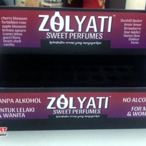 Acrylic perfume