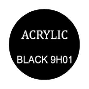 Black Round 8mm