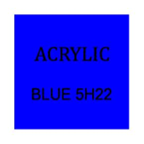 Dark Blue Rectangle 3mm