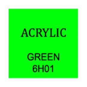 Green Rectangle 3mm