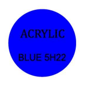 Blue Round 3mm