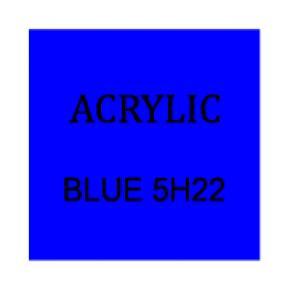Blue Rectangle 3mm