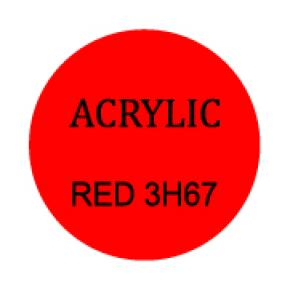 Red Round 3mm
