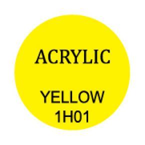 Yellow Round 3mm